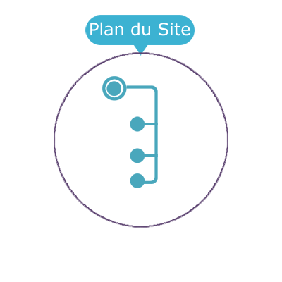 icone plan site